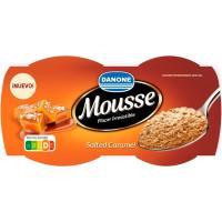 Mousse de caramelo con sal DANONE, pack 4x60 g