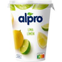 Yogur vegetal de lima limón ALPRO, tarrina 500 g