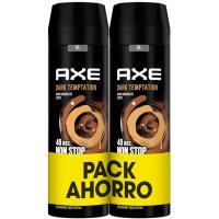 Desodorante para hombre Dark Temptation AXE, pack 2x200 ml