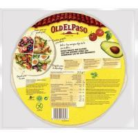 Tortilla wrap sin gluten OLD EL PASO, paquete 210 g