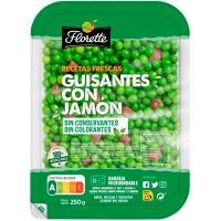 Guisantes con jamón FLORETTE, bandeja 250 g
