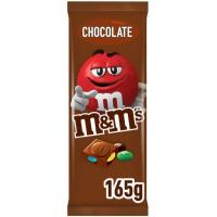 Chocolate con leche M&M's, tableta 165 g