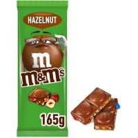 Chocolate con avellanas M&M'S, tableta 165 g