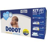 Pañal Recién Nacido KIT Talla 1 DODOT, caja 39 uds + Toallitas