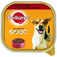 Alimento con buey-hígado para perro PEDIGREE, tarrina 300 g