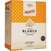 Terrones de azúcar blanquilla sin envase AZUCARERA, caja 500 g