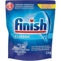 Lavavajillas máquina polvo eco recrambio FINISH, recambio 2 kg