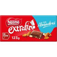 Chocolate con leche-almendras NESTLÉ, tableta 300 g