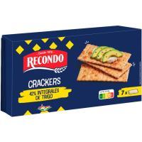 Crackers integrales RECONDO, paquete 250 g