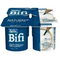 Yogur Bifi Activium natural KAIKU, pack 4x125 g