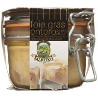 Foie Entier MARTIKO, tarro 130 g
