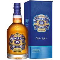 Whisky 18 años CHIVAS REGAL, botella 70 cl