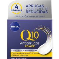 Crema antiarrugas de noche NIVEA Q10, tarro 50 ml