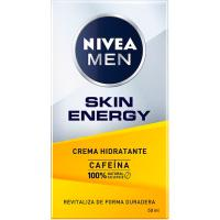 Crema facial Active Energy NIVEA Men Q10, dosificador 50 ml