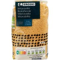 Pasta maravilla EROSKI, paquete 500 g