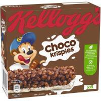 Barrita de cereal KELLOGG`S Choco Krispies, 6 uds., caja 120 g