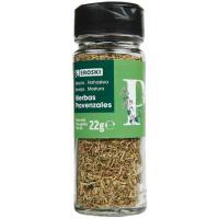 Hierba provenzal para sazonar EROSKI, frasco 22 g