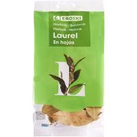 Laurel en hojas EROSKI, bolsa 8 g