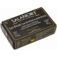 Sardinilla en aceite de oliva SALANORT, lata 115 g