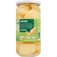 Patata entera EROSKI, frasco 400 g