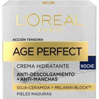 Crema de noche L`OREAL Age Perfect, tarro 50 ml