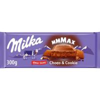 Chocolate chococookie MILKA, tableta 300 g
