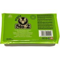 Arcilla natural para modelar Blanco SIO, paquete 1kg
