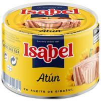 Atún en aceite girasol ISABEL, lata 400 g
