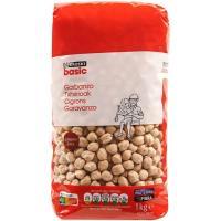 Garbanzo extra EROSKI basic, paquete 1 kg