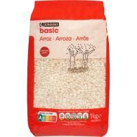 Arroz extra EROSKI basic, paquete 1 kg