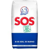 Arroz redondo SOS, paquete 1 kg