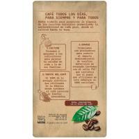 Café molido natural descafeinado BONKA, paquete 250 g