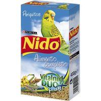 Alimento periquito NIDO, caja 400 g