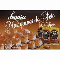 Mazapanes de Soto SEGURA, caja 400 g