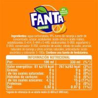 Refresco de naranja FANTA, lata 33 cl