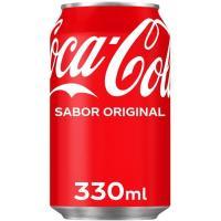 Refresco de cola COCA COLA, lata 33 cl