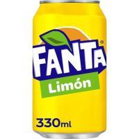 Refresco de limón FANTA, lata 33 cl