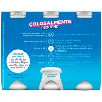 Yogur para beber natural 0% ACTIMEL, pack 6x100 ml