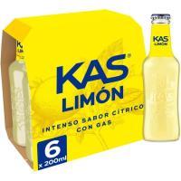 Refresco de limón KAS, pack 6x20 cl