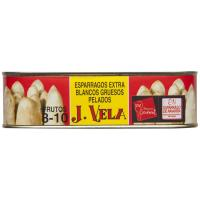 Espárrago blanco IGP Navarra 8/10 piezas J. VELA, lata 250 g