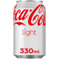 Refresco de cola light COCA COLA, lata 33 cl