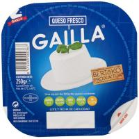 Queso fresco de vaca-oveja GAILLA, tarrina 250 g