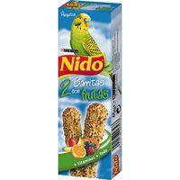 Barrita de fruta periquito NIDO, caja 45 g