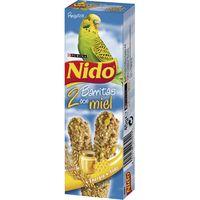 Barrita con miel periquito NIDO, caja 45 g