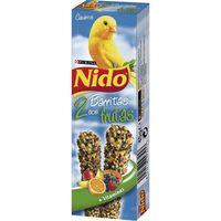 Barrita de fruta canario NIDO, caja 40 g