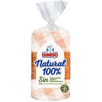 Pan de molde natural 100% BIMBO, paquete 460 g