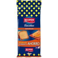 Biscotte normal RECONDO, 100 rebanadas, paquete 750 g