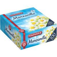 Manzanilla PAMPODOUR, caja 100 sobres