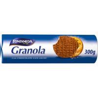 Galleta Granola con chocolate FONTANEDA, paquete 300 g