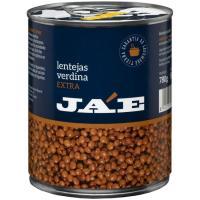 Lenteja JA'E, lata 500 g